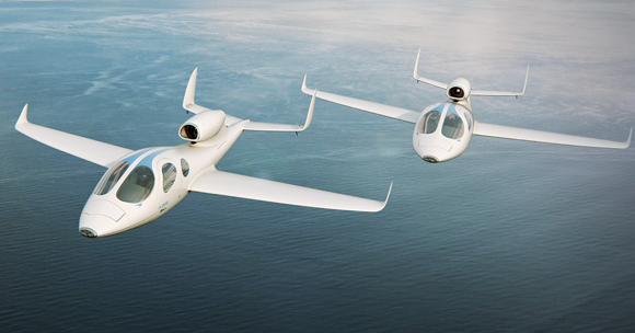 Private Jet that fits in your Garage